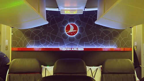Onboard B777-300ER Business Class - Turkish Airlines