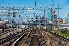 (dima.james) Tags: new york city nyc urban ny building train james day cityscape manhattan tracks clear commute signal lirr hdr dima citi e37