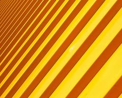 geometria in giallo (Rino Alessandrini) Tags: giallo colore geometria prospettiva ripetizione astratto obliquo forme yellow color abstract forms oblique perspective geometry repetition