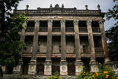    Baliati Palace, Bangladesh    (NahidHasan95) Tags: outdoor light sunlight palace place king historical summer monsoon building color texture architecture