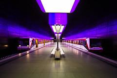 U4-HafenCityUniversitt (Fantastist) Tags: hamburg hafencity hcu hafencityuniversitt u4 elbe urban underground colour metro station