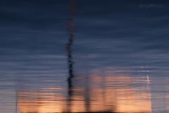 Morning Reflections #2 (astrogirl969) Tags: fujifilm xe1 fujifilmxf1855f284r balmaineast morning reflection abstract colour contrast blue orange ripple water longexposure haidandfilters nd8 nikcolourefex postprocessed upsidedown boat iwps nd09