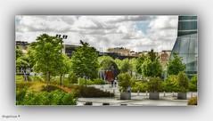 LOS JARDINES DE LAS CUATRO TORRES-MADRID (Angelines3) Tags: jardines nwn cuatrotorresmadrid