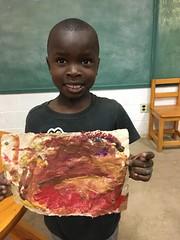 Marvins Altidor 1st grade Sept 2016 (Haiti Partners) Tags: haiti july 2016 childrensacademy socialbusiness entrepreneurship papermaking