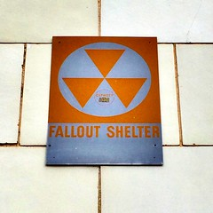 Fallout shelter sign (billsoPHOTO) Tags: huntsville coldwar falloutshelter fallout sign