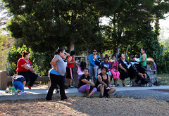 #NNO2016 Moms by Swings (sccpublichealth) Tags: weallplayaroll weallplayarole violencefreecommunities vpp violencepreventionprogram nno nno2016 nno2016sanjose santaclaracounty santaclaracountypublichealthdepartment santaclaracountypublichealth sanjose safeandpeaceful moms mothers park playground rainbow