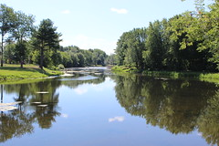 Chateauguay River (pegase1972) Tags: chateauguay river qubec quebec canada qc huntingdon monteregie montrgie water tree reflecting explored