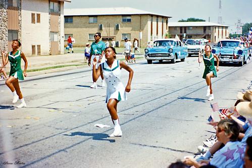 Baton Girls, Arlington July 4 Parade, 1996