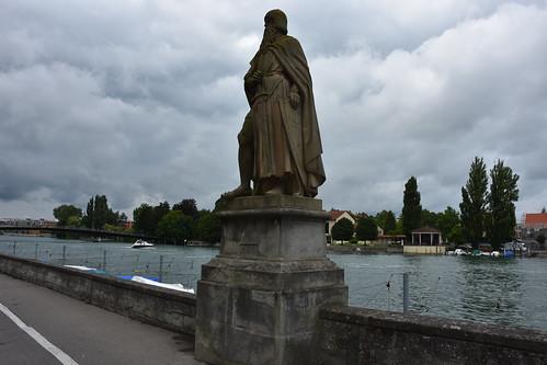 Konstanz (Lake of Constance) - Berhtold I von Zähringen genannt  der Bartige