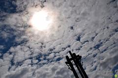 Alive to heaven (petrOlly) Tags: museum europe europa gdansk gdask poland polska polen pomorze tricity tricityarea trjmiasto sky monument clouds cloud cloudporn sun summer