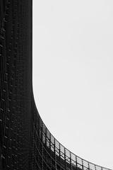 L (Ren-s) Tags: white black blackandwhite noiretblanc city ville buildings btiment bruxelles belgique europe ciel sky windows fentre design