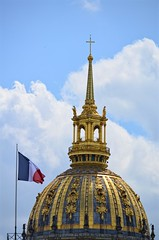 Vive la France (pjpink) Tags: hoteldesinvalides invalides gold dome architecture paris france may 2016 spring pjpink
