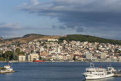 Mitilini Town from on board the Ship (panos_adgr) Tags: nikkor 55200mm vrii