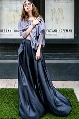 Look 7 (futureclaw) Tags: eyecontact fashionweek fulllength vertical womenswear