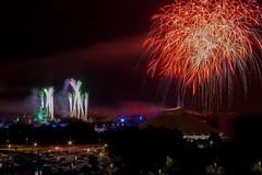 Happy Fireworks Friday: Hallowishes from Bay Lake Tower - September, 2014 (rowanb73) Tags: disney disneyworld magickingdom wishes hallowishes halloween mickeysnotsoscaryhalloweenparty mnsshp fireworks fireworksfriday night baylaketower