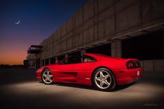 Ferrari 355 GTS (DL_) Tags: red ferrari 355 gts italian sportscar moon omdem5mkii