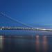 Verrazano Bridge at Nightfall