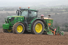 John Deere 6170R Tractor with an Amazone AD-P 303 P1000 Seed Drill & Power Harrow (Shane Casey CK25) Tags: county horse tractor green field barley work john spring hp corn nikon traktor power mud earth farm cork farming grain working seed soil dirt till crop land crops farmer agriculture jd contractor deere drill tracteur trator stubble horsepower harrow tilling adp 303 trekker amazone agri p1000 d90 tillage cignik traktori 6170r kilmagner