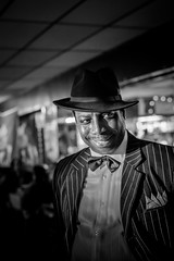 Charles Wilson at the Arch Social Club (Dorret) Tags: music concert live blues baltimore pennsylvaniaavenue tribute bigband charleswilson billieholiday ladyday archsocialclub april4th2015 denysepearson phillbutt thearchsocialclubbigband