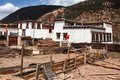 Maison tibétaine à Reda