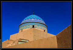 Yadz (Iran) ! Mausolée Rohn od-Din (L'Abominable Homme de Rires) Tags: iran yadz