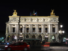 Opera national de Paris, Opra national de Paris, Paris, France (PaChambers) Tags: light urban paris france building architecture night dark opera illumination national opra garnier 2014 opragarnier opranationaldeparis autumn2014