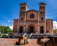 CATEDRAL NUESTRA SEÑORA DE LAS MERCEDES (santifox14) Tags: arquitectura colombia catedral iglesia antioquia fotografía jericó panoraica