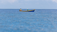 Nadely and the Fishermen (williamagarcia) Tags: ocean vacation water fishermen dominicanrepublic 2015 riosanjuan