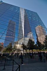 Old & New World Trade Center (Hrnchen3) Tags: newyorkcity memorial worldtradecenter 911 manhatten hochhaus 911memorial gedenksttte