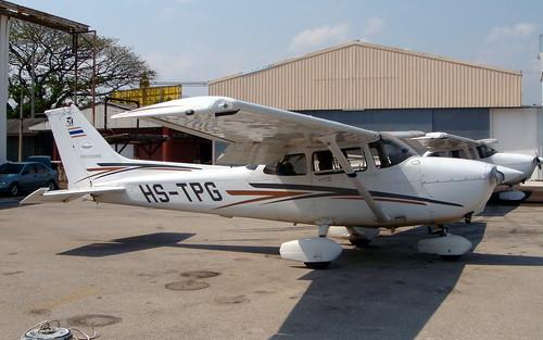 Cessna 172R HS-TPG Hua Hin 14Jan10