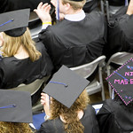 "<b>Commencement 2015</b><br/> Commencement 2015. Photo by Aaron Lurth<a href=""http://farm9.static.flickr.com/8791/18200375969_c80f35774e_o.jpg"" title=""High res"">∝</a>"