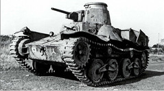 Japanese Type 95. Arguably one of the worst tanks involved in WW2.<br />The Type 95 performed brilliantly against the Chinese, who had no tanks of their own and very inferior weapons, but once it came up against western forces they were annihilated.<br />Any force with an anti-armour capability of any kind was able to defeat them, and there are even stories of U.S Marines completely destroying them with concentrated machine gun fire.