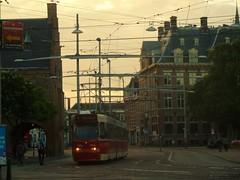 The Hague at 21H on Monday (JoséDay) Tags: thehague denhaag thenetherlands holland street tram tramvia urbanlines panasonicdmctz10 july2016 eveningshot walkingaround urbanlife