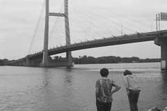 Wandering (bracck) Tags: film 35mm 50mm ilford nikkormat