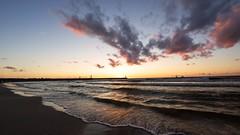 2016-07-21_03-11-17 (wiktor_furmaniak) Tags: sunset seaside polishphotographer internationalphotographer wideangle batyk eba poland sony alpha65 samyang 10mm waves watercollection sky clouds absolutelyperrrfect