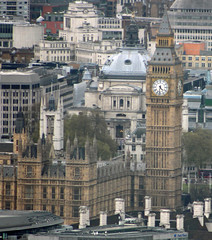 Big Ben from the Shard (big_jeff_leo) Tags: england london tower clock bigben