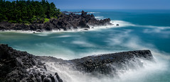 (Rob-Shanghai) Tags: jeju jejuisland korea southkorea sony a6000 rocks volcanic spray