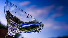 Voulez-vous un verre d'eau? (Yasmine Hens) Tags: blue water europa flickr belgium ngc bleu cristal glas verre namur hens yasmine wallonie world100f iamflickr flickrunitedaward olympusm45mmf18 panasonicdmcgx8 hensyasmine