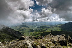 View from Bowfell 14/07/2016 (moonsurf) Tags: thelakedistrict thelakes bowfell d600 nikon mountains landscapes cumbria cumbrialandscape scafellpike