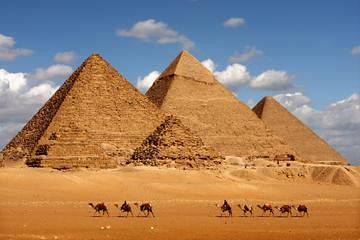 三大ピラミッドとスフィンクス(世界遺産のオプショナルツアー)