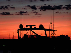time to head home (-gregg-) Tags: sunset clouds boat kent island maryland