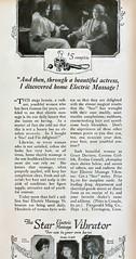 Vibrator ad--Photoplay (kevin63) Tags: 1920s magazine women vibrator advertisement product facial lightner internetarchive photoplay