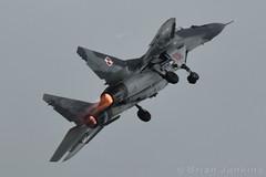 "MiG-29 ""Fulcrum"" (Bri_J) Tags: uk nikon fighter aircraft jet gloucestershire airshow riat mig29 royalinternationalairtattoo raffairford fulcrum polishairforce d7200 riat2016"