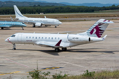 A7-CEI - Girona (afrigole) Tags: qatar qatarexecutive executive girona gro lege spotting spotter plane aviation spotters globalexpress global bombardier a7cei