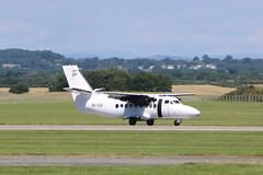 OK-TCA landing. (aitch tee) Tags: aircraft landing walesuk cardiffairport let410 oktca maesawyrcaerdydd cwlegff