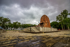 Laxman Temple, Sirpur Chhattisgarh (Satyajeet Sahu) Tags: temple sirpur chhattisgarh cloudy rainyday sky architecture ancient bricktemple canonphotography canoneos600d 1018mm wideangle historic