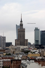 Palace of Culture and Science (Stationary Nomads) Tags: warsaw poland polska capital city architecture design oldtown motherland amenaamer canon 500d warszawa polish palaceofcultureandscience soviet sovietunion tower