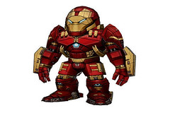 Chibi Iron Man Model 14 Hulkbuster Papercraft Free Template Download (PapercraftSquare) Tags: chibi hulkbuster ironman marvelcomics model14