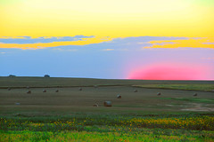 Life on the Great Plains (breann.fischer) Tags: greatplains beautyseeker beautyhunter sunset northdakota nd2016contest