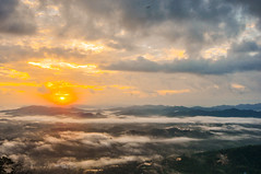 After Sunshine (Azizasrar Photoghraphy) Tags: amateurtobepro travellight slowshutter sunrise tokina nikon landscape hikers higestwaterfall azizasrar waterfalls motherofnature morning mountain malaysia